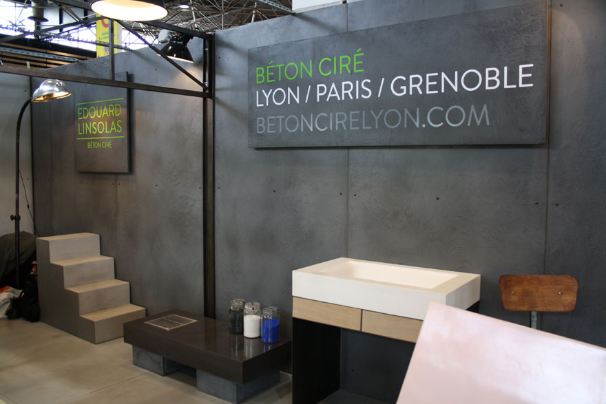foire de lyon 2012 beton cire lyon paris grenoble beton autolissant spatulable chape liquide. Black Bedroom Furniture Sets. Home Design Ideas