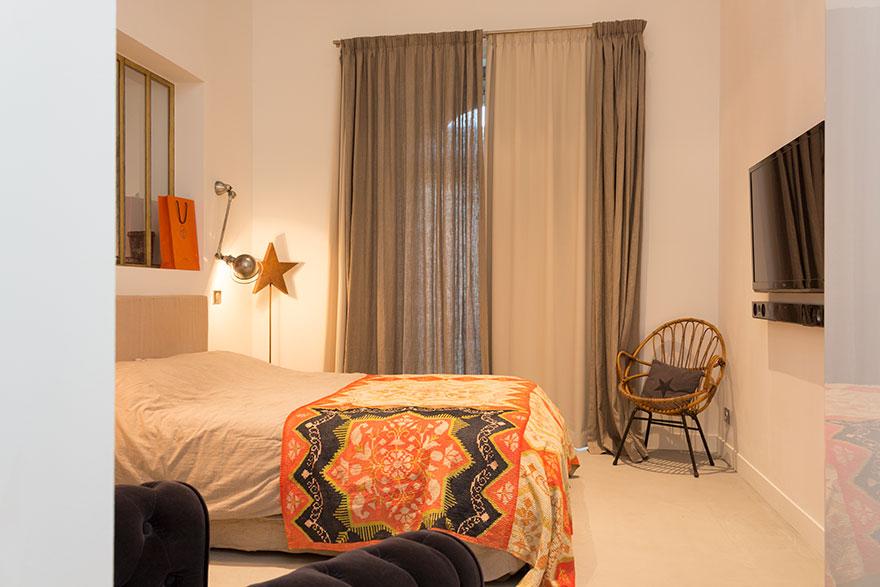 rez de jardin maison ancienne millery beton cire lyon paris grenoble beton autolissant. Black Bedroom Furniture Sets. Home Design Ideas